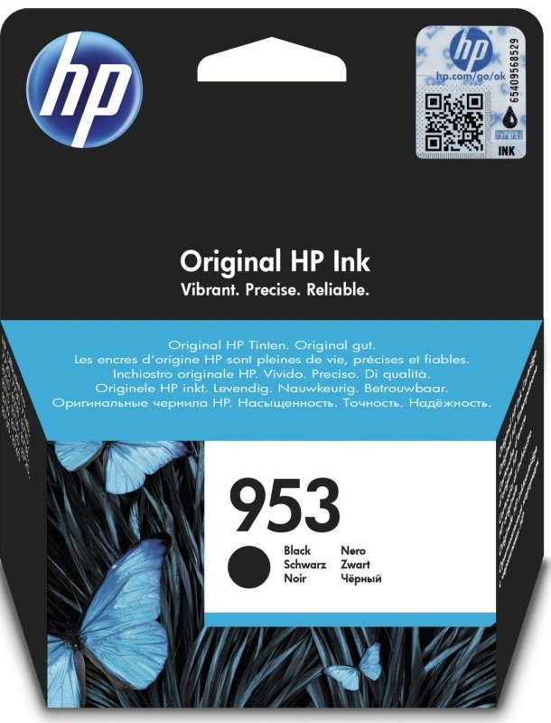 HP 953 Black Standard Yield Ink Cartridge