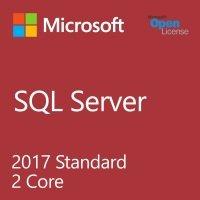 Microsoft SQL Server Standard Core 2017 Single OLP 2 Licenses Core License Qualified