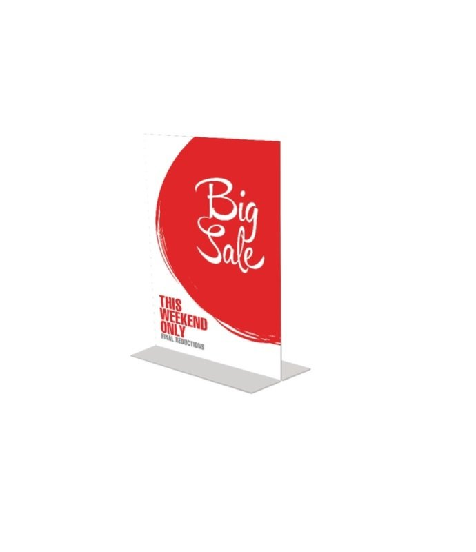 Image of Announce Stand Up Sign Holder A4 DF47801