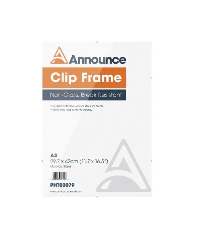 Image of A3 Clip Frame