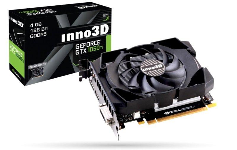 Inno3D GeForce GTX 1050 Ti  Compact 4GB GDDR5 Graphics Card