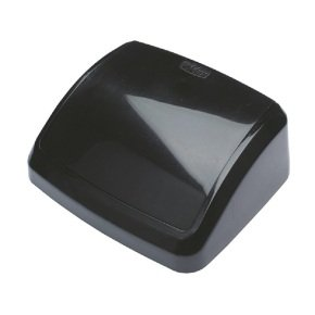 2Work 10L Swing Bin Top Only Black