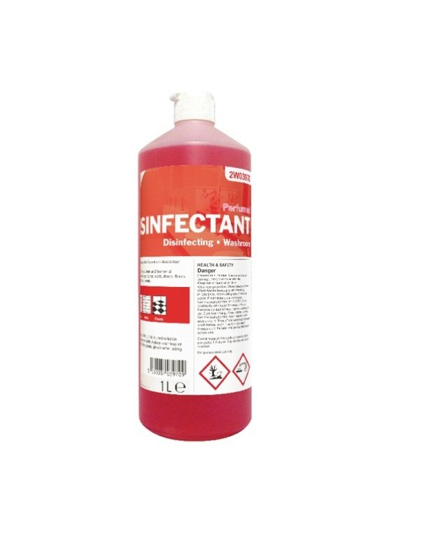2Work Perfumed Disinfectant 1 Litre (Pack of 1)
