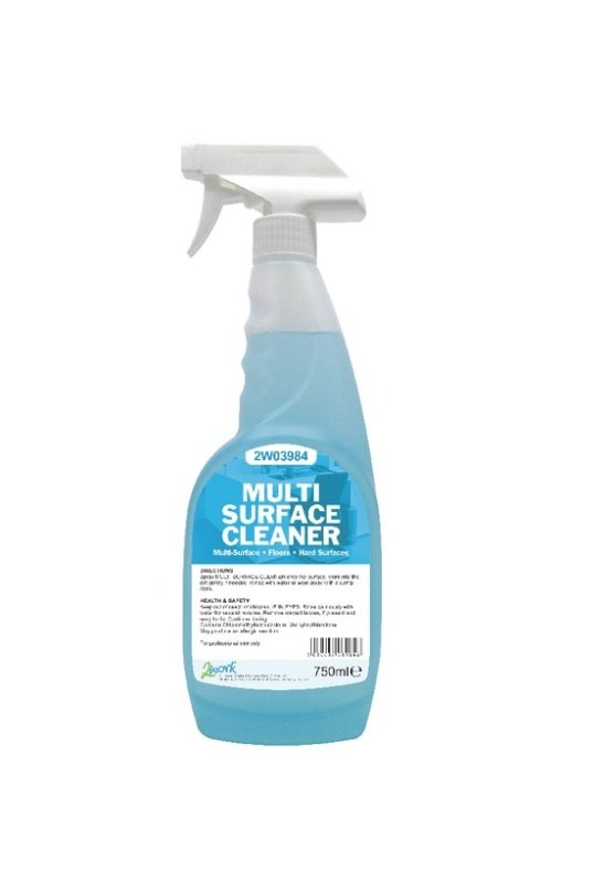 2Work Multi Surface Trigger Spray- 750ml