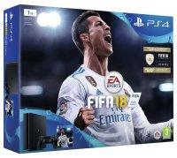 Sony 1TB Black PS4 with Fifa 18