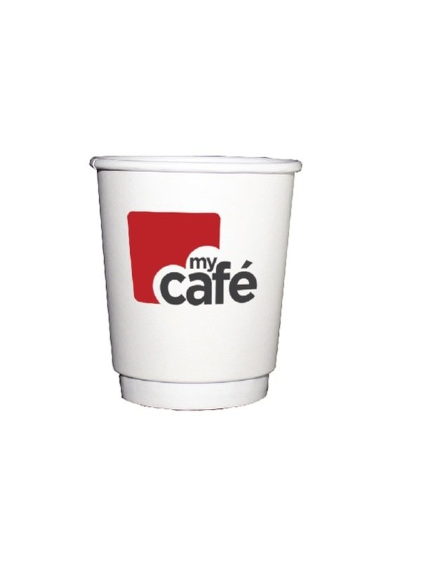 Mycafe 8oz Double Wall Hot Cups (Pack of 500)