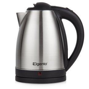 Elgento E10015B Brushed Stainless Steel Kettle 2200 W,