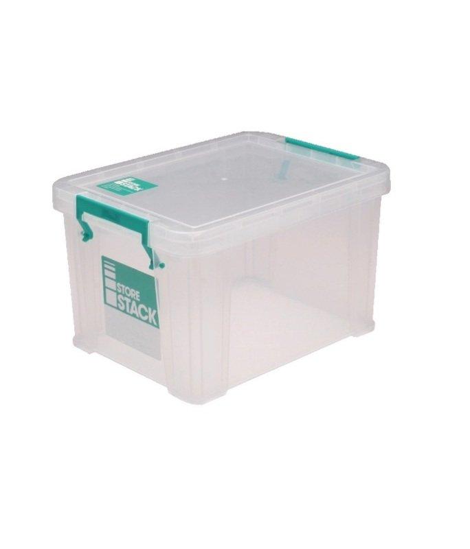 StoreStack Clear 1 Litre Storage Box