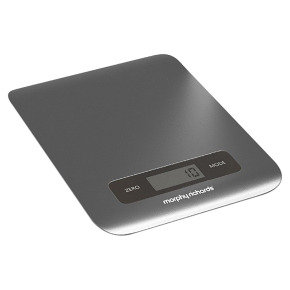 Morphy Richards Accents Digital Kitchen Scale - Silver