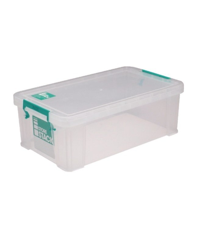 StoreStack Clear 7.5 Litre Storage Box