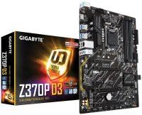EXDISPLAY Gigabyte Z370P D3 Socket 1151 Coffee Lake DDR4 ATX Motherboard