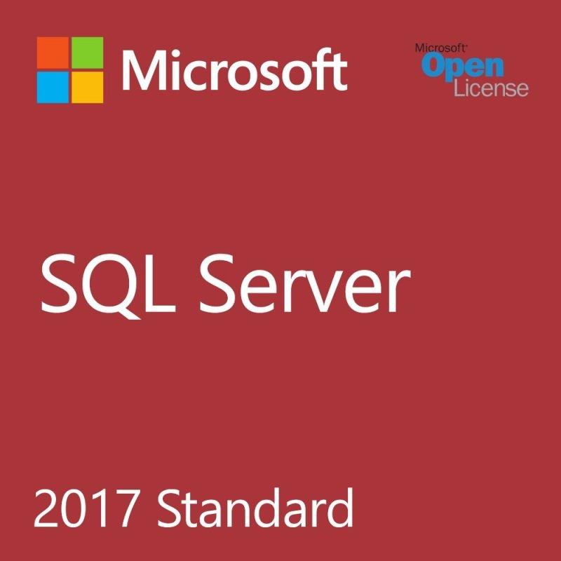 Microsoft SQL Server Standard Edition 2017 Single License Academic OLP
