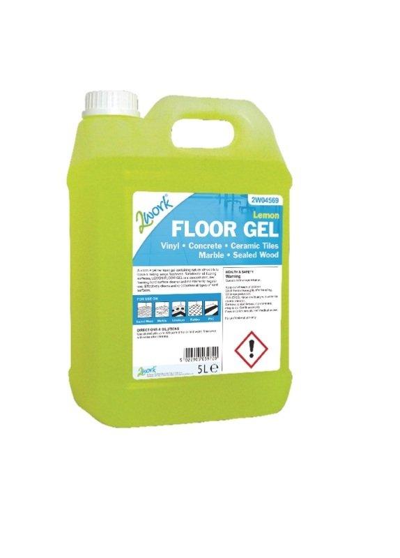 2Work Lemon Floor Gel 5 Litre