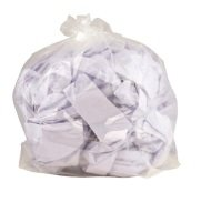 2Work Clear Polythene Bags On a Roll (Pack of 250)