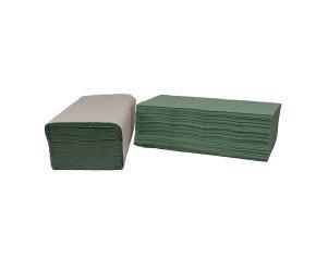 2Work Green I-Fold Hand Towel (Pack of 3600)