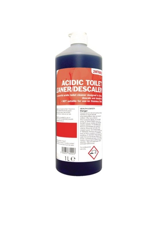 2work Acidic Toilet Cleaner 1 Litre