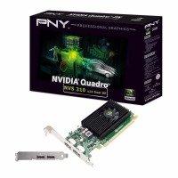 EXDISPLAY PNY NVIDIA QUADRO NVS 310 1GB PCIe DUAL DP Graphics Card VCNVS310DP-1GB-PB