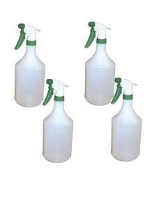 2Work Green Trigger Spray Refill Bottle (Pack of 4)