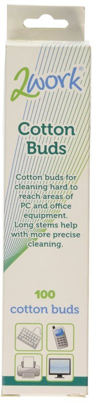 2Work XL Cotton Bud (Pack of 100)
