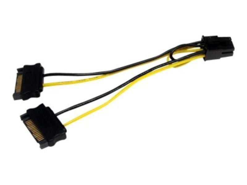 startech sata power to 6 pin pci express connector ebuyer com startech sata power to 6 pin pci express connector
