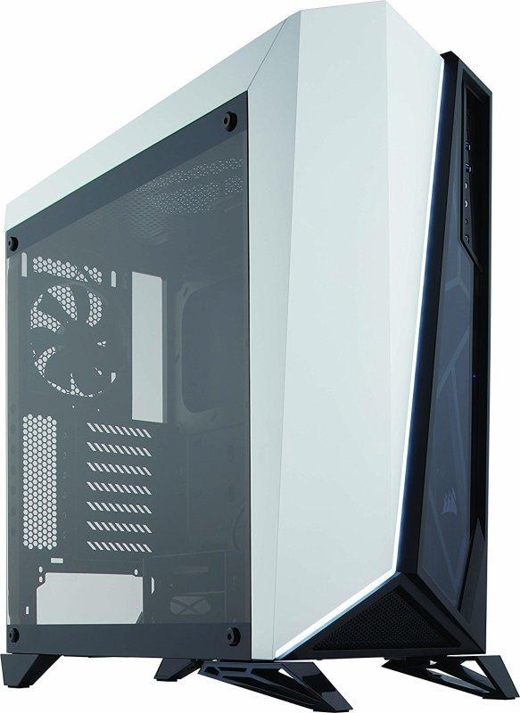 Corsair Carbide SPEC-OMEGA Tempered Glass White Mid-Tower Case