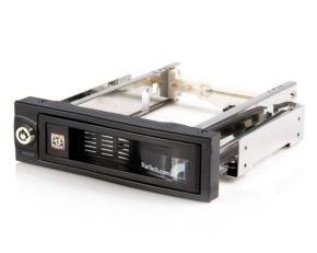 StarTech 5.25in Trayless Hot Swap Mobile Rack - Black