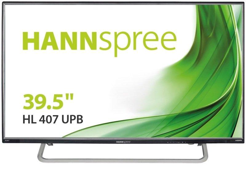 "Hannspree 40"" HL407UPB Full HD HDMI Monitor"