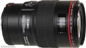 EXDISPLAY Canon Ef 100mm F/2.8l Macro Is Usm