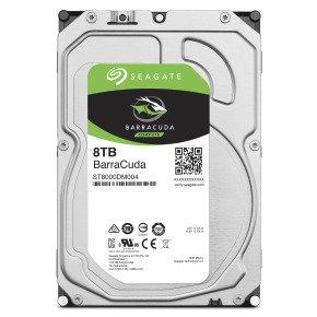 "Seagate BarraCuda 8TB Desktop Hard Drive 3.5"" SATA III 6GB's 5400RPM 256MB Cache"