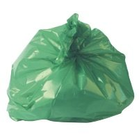 Refuse Sack 100g Green (Pack of 200)