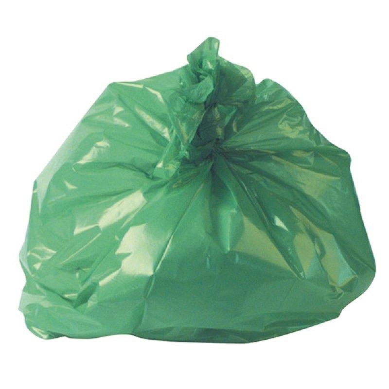 Refuse Sack 100g Green (Pack of 200)