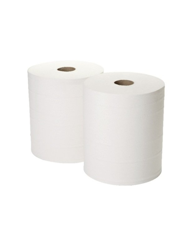 2work Fourcourt Roll White ( Pack of 2)
