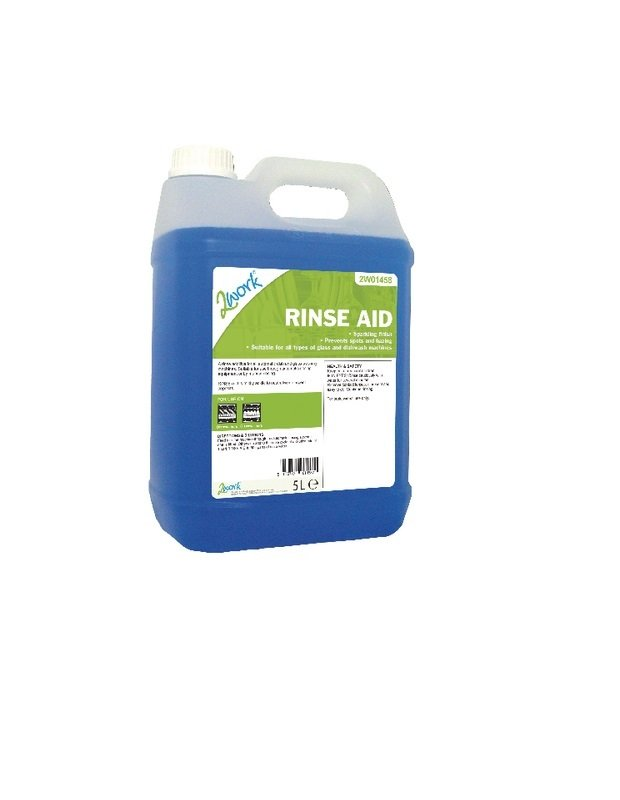 2work Rinse Aid Additive 5L ( Pack of 1)
