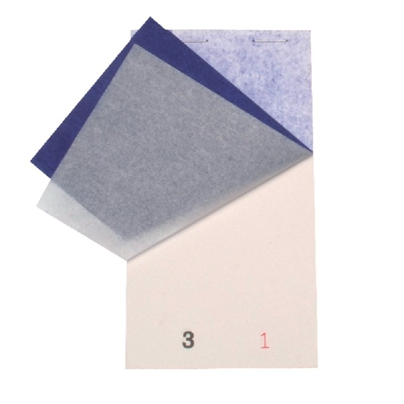 White Small Duplicate Restaurant Pads (Pack of 50)
