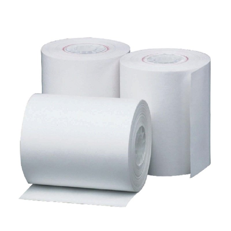 Thermal Credit Card Rolls White 57mmx46mm (Pack of 20)