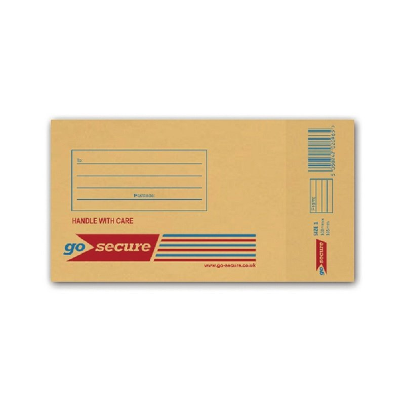 Image of Bubble Lined Envelope Size 1 100x165mm (Pack of 100)