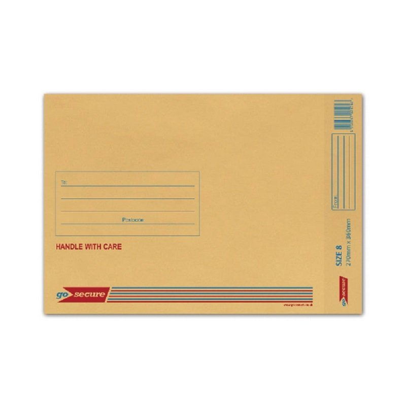 Image of Bubble Lined Envelope Gold (Pack of 50)