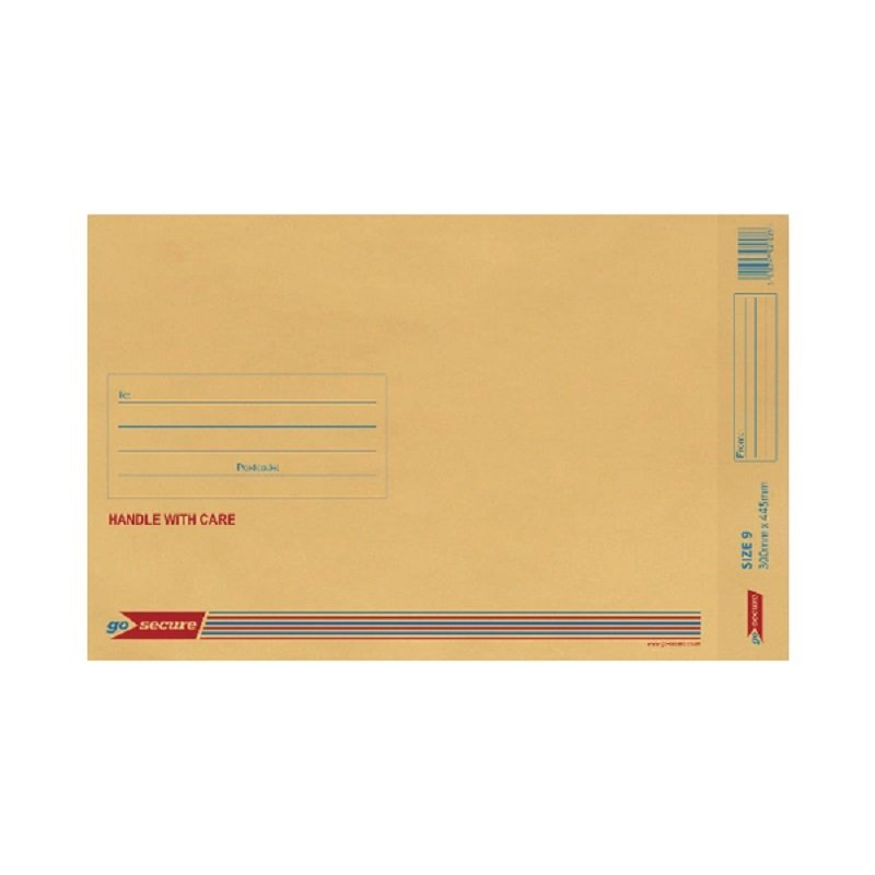 Image of Bubble Lined Envelope Gold (Pack of 20)