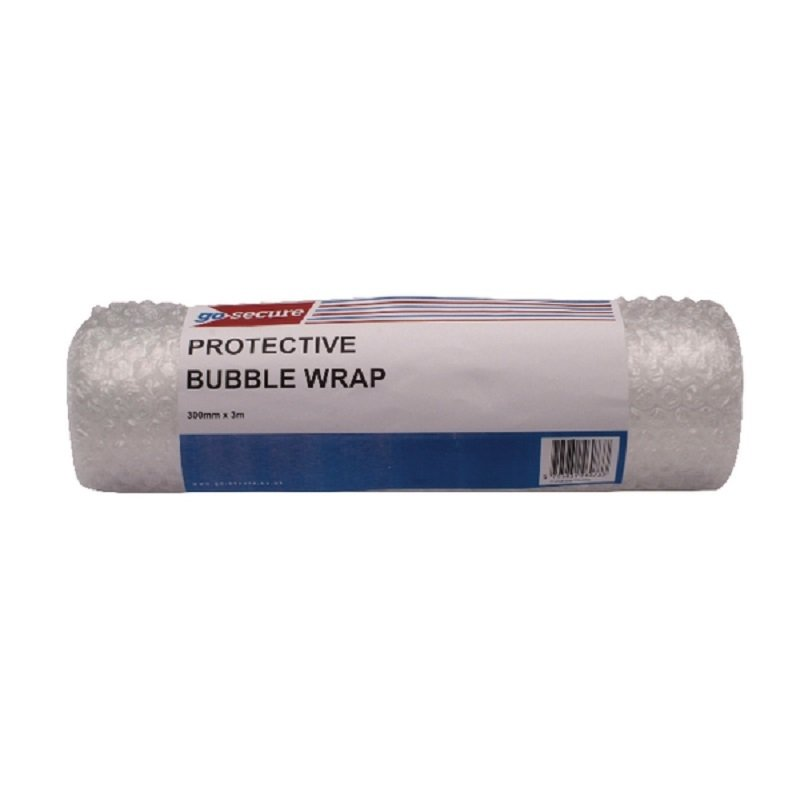 GoSecure Bubble Roll Small Clear (Pack of 16)
