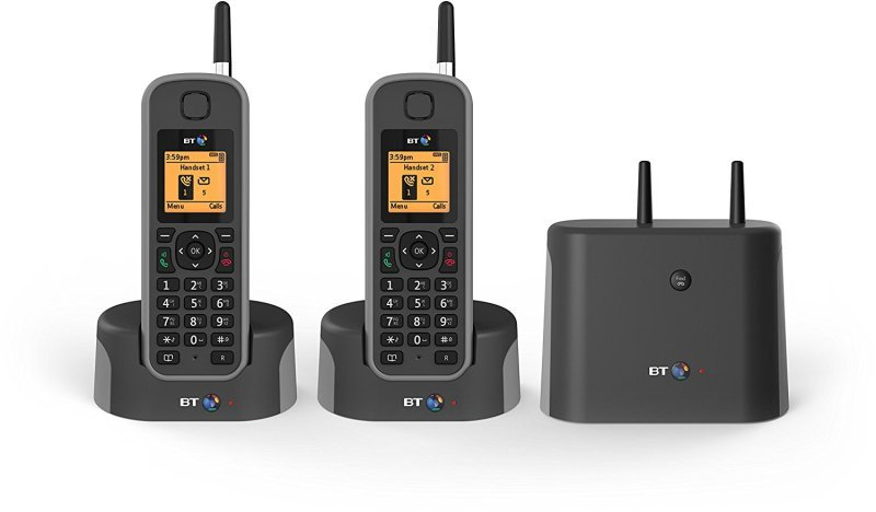 BT Elements 1k DECT Phone - Twin Pack