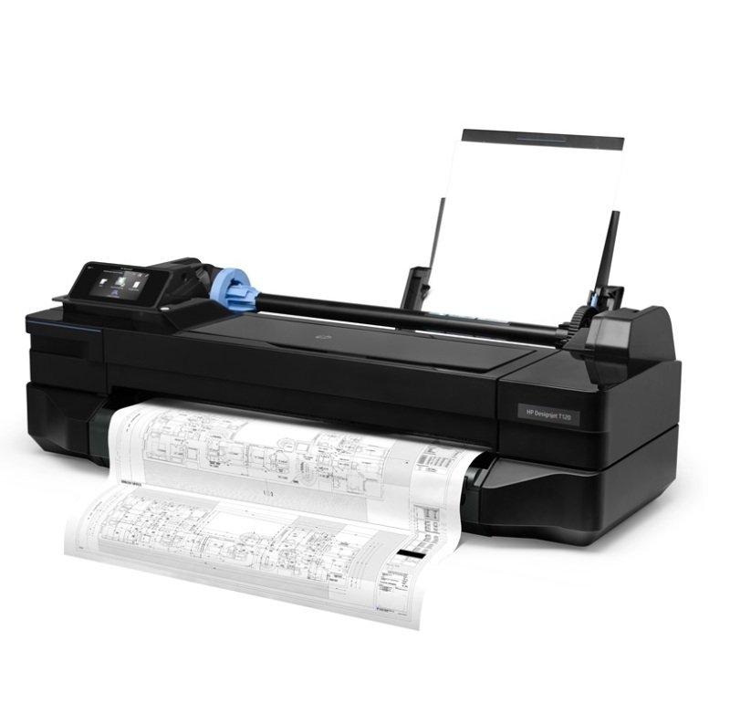 HP DesignJet T120 24-in Wireless Large Format Printer