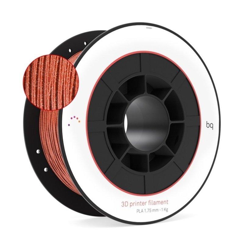 BQ Copper Glitter PLA Filament 1Kg, 1.75mm