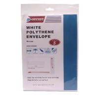 GoSecure Extra Strong Polythene Envelopes (Pack of 50)
