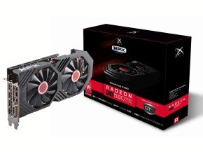 XFX AMD Radeon RX 580 8GB OC+1405MHz Graphics Card