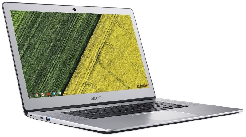 "Acer Chromebook 15 CB515-1HT-P099 Intel Pentium, 15.6"", 4GB RAM, 64GB Flash, Chrome OS, Chromebook - Silver"