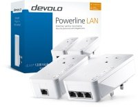 EXDISPLAY Devolo dLAN powerline 1200 TRIPLE PLUS (Gigabit Ethernet) Starter Kit (2x plugs)