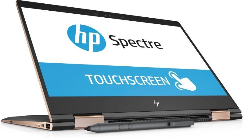 "HP Spectre x360 13-ae005na Intel Core i7, 13.3"", 8GB RAM, 512GB SSD, Windows 10, Notebook - Black"