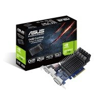 EXDISPLAY Asus GeForce GT 730 2GB DDR3 Low Profile Graphics Card