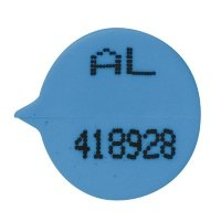 GoSecure Numbered Round Seal Blue (Pack of 500)