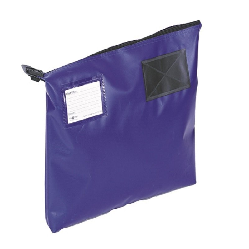 Image of Go Secure Blue 470x336x76mm Mail Pouch
